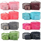 Внешний вид - 6PCS Waterproof Clothes Travel Storage Bags Packing Cube Luggage Organizer Pouch