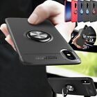 Metal Magnetic Case Cover With Car Ring Holder For Samsung Galaxy& iPhone XR Max