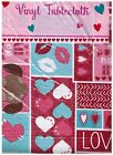 Vinyl Flannel Back Tablecloth All You Need Is Love and A Dog Assorted Sizes