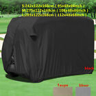 Silver 4 Passenger Golf Cart Cover Storage Waterproof For EZ GO Club Car USA TO