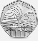 1997-2021 50p COINS FIFTY PENCE BEATRIX POTTER BREXIT BU TEAM GB  BU KEW GARDENS