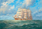 best abstract pictures - Best gift Seascape Ship Sailing print Oil painting Art wall Picture canvas FC221