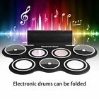 Roll up Portable 9 Pad USB 9 Pad Musical Instrument Electronic Drum Kit Kids MS