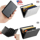 Stainless Steel Credit Card Holder RFID Blocking Metal Money