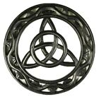 Carved Triquetra Wall Plaque - Gothic / Wiccan (W41)