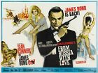 James Bond Sean Connery From Russia With Love  Movie Poster $17.23 CAD on eBay