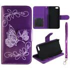 For Apple Iphone 5 5s Leather Folding Wallet Case Cover Glob