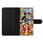 Anime One Piece Luffy Wallet Card Holder Phone Case Cover For Google One Plus