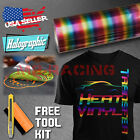 Rainbow Pattern Heat Transfer Vinyl HTV T-Shirt 20