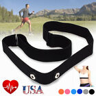 Adjustable Chest Belt Strap Band For Garmin Wahoo Polar Heart Rate Monitor US