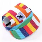 Dog Hat Protected Adjustable Puppy Cap Baseball Pet Sun Outdoor Visor Peaked For