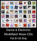 Dance & Electronic(2) - Mix&Match Music CDs U Pick *NO CASE DISC ONLY*