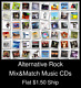 Alternative Rock(5) - Mix&Match Music CDs U Pick *NO CASE DISC ONLY*