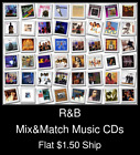 R&B(5) - Mix&Match Music CDs U Pick *NO CASE DISC ONLY*
