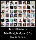 Miscellaneous(7) - Mix&Match Music CDs U Pick *NO CASE DISC ONLY*