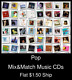 Pop(8) - Mix&Match Music CDs U Pick *NO CASE DISC ONLY*