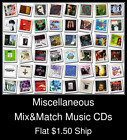 Miscellaneous(10) - Mix&Match Music CDs U Pick *NO CASE DISC ONLY*