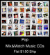 Pop(12) - Mix&Match Music CDs U Pick *NO CASE DISC ONLY*