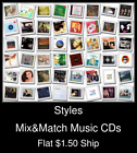 Styles(38) - Mix&Match Music CDs U Pick *NO CASE DISC ONLY*