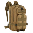 30L Hiking Camping Bag Army Military Tactical Trekking Rucksack Backpack Camou