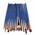 15pcs Makeup Brushes Synthetic Make Up Brush Set Tools Kit Professional Cosmetic