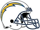 Los Angeles Chargers LA Helmet NFL Vinyl Decal / Sticker Sizes Free Shipping $4.95 USD on eBay