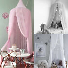 Kids Baby Bed Canopy Bedcover Mosquito Net Curtain Bedding Dome Home Cotton Tent