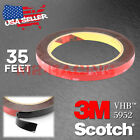 35FT Genuine 3M VHB #5952 Double-Sided Mounting Tape Acrylic Foam Automotive Car