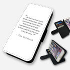 samsung notebook mini - THE NOTEBOOK ROMANTIC LOVE QUOTE FLIP PHONE CASE COVER WALLET FAUX LEATHER