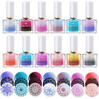 6ml BORN PRETTY Thermal Nail Art Stamping Polish Color Changing Varnish