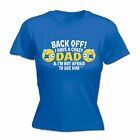 Womens Funny T Shirt I Have A Crazy Dad Birthday Joke tee Gift Novelty T-SHIRT