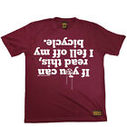 Cycling I Fell Off My Bicycle Breathable top T SHIRT DRY FIT T-SHIRT