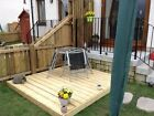 Heavy Duty 3.0x3.0 to 3.0x9.6 Top Quality Garden Decking Kits.28mm Thick Decking