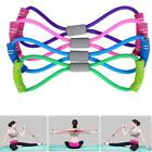 Fitness Equipment Elastic Resistance Bands Tube Workout Exercise Band For Yoga image