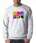 Gildan Crewneck Sweatshirt Sports Hockey Warhol