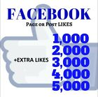 Facebook Page Lik�s | Post Lik�s | Video Vi�ws | Comm�nts