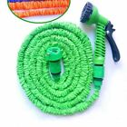 Favorite New Flexible Garden Water Hose w/ Spray Nozzle Deluxe 25 50 75 100 Feet