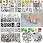 BORN PRETTY Nail Art Image Stamping Plates Image Stamp Templates  Summer