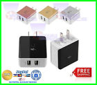 2A Dual USB AC home Wall Charger Fast Charging Power Adapter For IPhone Samsung