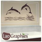 Dolphin Wall Stickers! Cute Transfer Graphic Girls Room Decal Decor Stencils Art