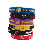 NBA SILIKON ARMBAND GOLDEN STATE WARRIORS BOSTON CELTICS MIAMI HEAT