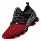 Mens Casual Sneakers fashion tanke sole athletic sports shoes breathable shoes