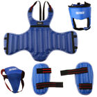 Boxing Sparring Gear Set Shin Leg Chest Guards,  Head & Groin Guard Protector