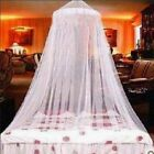 Modern Lace Bed Mosquito Netting Mesh Canopy Princess Round Dome Bedding Net US image