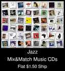 Jazz(2) - Mix&Match Music CDs U Pick *NO CASE DISC ONLY*