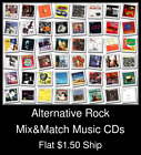 Alternative Rock(11) - Mix&Match Music CDs U Pick *NO CASE DISC ONLY*