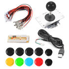 Arcade Game Controller USB Encoder Board PC Joystick Taste Kable DIY Kit für PC