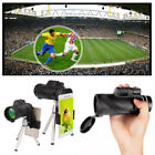 40x60 Universal Hiking Cell Phone Camera Lens Zoom Monocular Telescope +Tripod