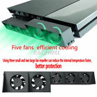 US 5fan For PS4/PS4 Pro Game Accessories PlayStation 4 Host Cooling Fan External