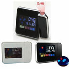 Digital Projection Alarm Clock with Temperature Music With Dimmable LCD Display